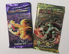 Duel Masters DM-03 + Dm-02 Rampage of the Super Warriors Booster Pack Lot