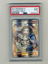 Pokemon PSA 9 MINT Fan Club Full Art XY Flashfire English Card 106/106