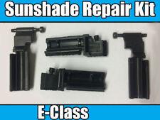 Sunshade Repair Kit For Mercedes E-Class W211 Sunroof Sunshade SunShield 4 Piece