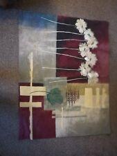 Tapiz Colgante De Pared Decoración Moderna Contemporánea Carmesí-Fine Art Imagen