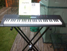 More details for casio lk160 light up key portable keyboard in very good condition with stand