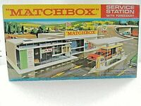 MATCHBOX LESNEY SUPERFAST G-1 SERVICE STATION SET REPRO EMPTY BOX  november