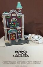 Dept 56 Christmas In The City Lighted 1991 Arts Academy 55433 Retired 1993