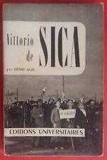 Libro Vittorio di Sica da Henri Agel 1955*