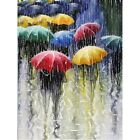 Diamond Painting Round 5D Art Craft The Umbrella Embroidery Decor Gifts