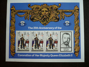 Stamps - Turks & Caicos Islands - Scott# 344 Souvenir Sheet