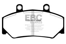 EBC Ultimax Front Brake Pads for UMM Alter II 2.5 TD (110 BHP) (89 > 96)