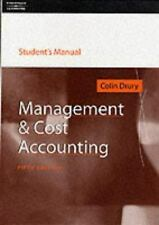ITBP Textbooks: Management and Cost Accounting by Cohn Drury (2000,...