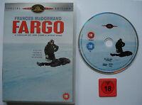 ⭐⭐⭐⭐ FARGO  ⭐⭐⭐⭐  SPECIAL EDITION  ⭐⭐⭐⭐  FSK 18 DVD ⭐⭐⭐⭐  English Version ⭐⭐⭐⭐