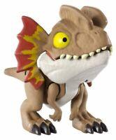 Jurassic World DILOPHOSAURUS Snap Squad Figure Dinosaur Toy Mattel NEW