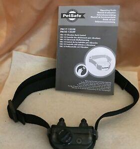 PetSafe Vibration Dog Bark Control Collar-NOT A SHOCK COLLAR
