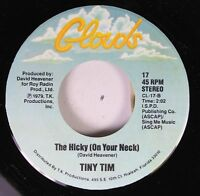 Pop 45 Tiny Tim - The Hicky On Your Neck / Tip Toe To The Gas Pumps On Clouds