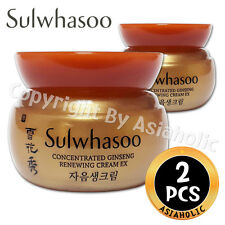 Sulwhasoo Concentrated Ginseng Renewing Cream EX 5ml x 2pcs (10ml) Newist Ver