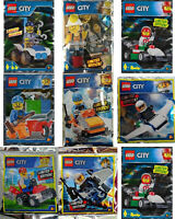 ORIGINAL LEGO CITY Limited Edition Minifigure - Foil Pack Polybag LEGO