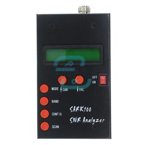 SARK-100 Mini60 HF ANT SWR Antenna Analyzer Meter 1-60 Mhz SARK100 for Ham Radio