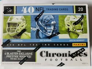 Panini 2020 Chronicles Football Value Packs and Blasters Boxes