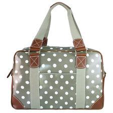 Bolso de bandolera Mano Compras carry all bag Grande taupe gris Vintage