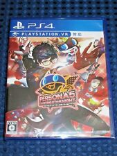 PS4 Persona 5 Dancing Star Night Dance Rhythm Action Game PlayStation VR JAPAN