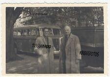 Braunschweig Stadt Bus Fahrzeuge Häuser um 1951  Postkarte
