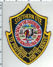 Southern Ute Indian Police Shoulder Patch (Colorado) - new