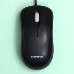 Genuine Microsoft Basic Optical Computer Mouse v2.0 USB / PS2 Compatible (Black)
