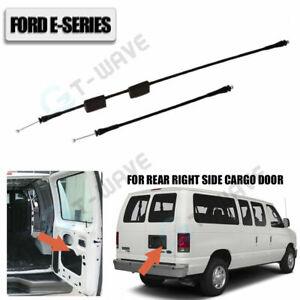 Rear Cargo Door Latch Release Cable for Ford E150 E250 E350 Vans 1992-2014 /2pcs