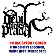 "The Devil Wears Prada Band JDM Vinyl Decal Car Sticker Window bumper Laptop 7"""