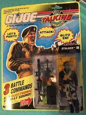 Vintag 1991 Hasbro GI Joe Talking Battle Commanders Stalker Action Figure Sealed