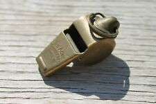 Vintage The Acme Thunderer Brass Police Whistle England