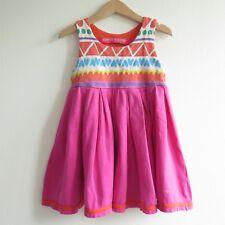 AGATHA RUIZ DE LA PRADA PINK SLEEVELESS DRESS | Size 4 Years