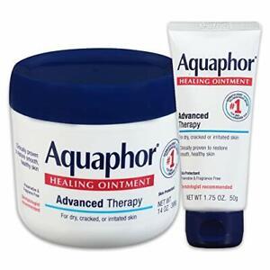 Aquaphor Healing Variety Pack, Moisturizing Skin Protectant For Dry Cracked...