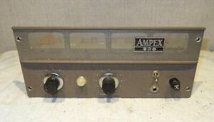 Ampex 620 6V6 tube amplifier for guitar amp project #1
