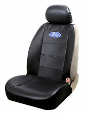 Ford Oval Logo Sideless Seat Cover for Trucks Cars Vans and SUVs