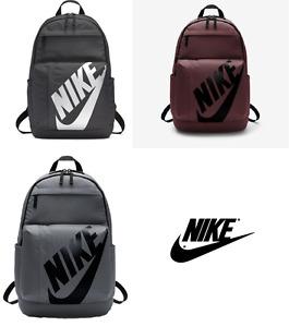 Nike Backpack Rucksack School Bag Black Gym Sports Unisex Bags football holiday