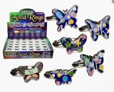 ButterflY Mood Ring Girls Birthday Christmas Present Party Bag Favour Gift Xmas