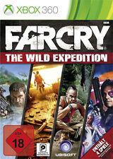 Microsoft xbox 360 jeu * Far Cry wild EXPEDITIONS 1+2+3 + toutes les Addons * NOUVEAU * NEW