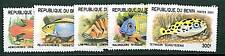 BENIN -  2001 PESCI - FISH - MNH 5 Values