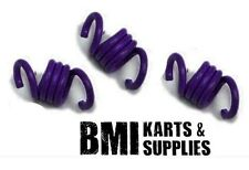 Purple Springs Set of 3 for Noram Stinger Clutch, Racing Go Kart Mini Bike - New