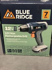 Blue Ridge Tools 12V MAX Rechargeable Drill