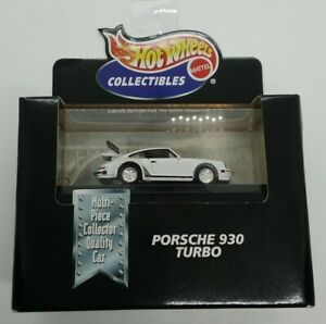 Hot Wheels Collectibles Limited Edition PORSCHE 930 TURBO 1998 1:64 MIB!
