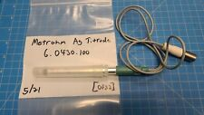Metrohm Ag Titrode 60430100 Combined Silver Ring Electrode Ph Glass Membrane