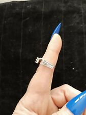 A Solitaire 0.75 ctw Genuine Beautiful Diamond Wrap For