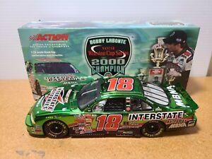 2001 Bobby Labonte #18 Interstate Batteries / '00 Champion CC 1:24 NASCAR Action