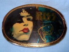 Vintage KISS Paul Stanley Belt Buckle 1977 Pacifica Mfg..