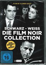 Die Film Noir Collection Schwarz - Weiss (4 DVD) 9 Filme - NEU & OVP