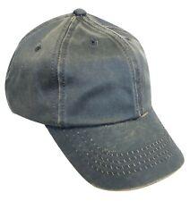 Waxed Cotton Oilskin Cap, waterproof & breathable