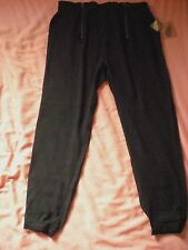 FOREVER 21 F21 Black Woven Ankle Trousers *NEW* Size Medium