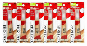 CoverGirl Outlast All-Day Soft Touch Liquid Concealer Medium/Deep 850 Lot of 6
