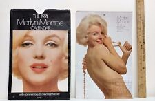 1974 MARILYN MONROE CALENDAR AND ENVELOPE-NORMAN MAILER COMMENTARY-COMPLETE