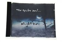 THE SPIDER AND... THE NIGHTFLIES Rare CD Album - Complete, VG Condition